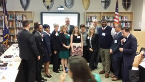 Teachers from across south Hampton Roads and the Peninsula, along with state education leaders, took part in an education roundtable on Sept. 28 at Kellam HS.