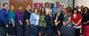 Dr. Spence with VBEA Board of Directors